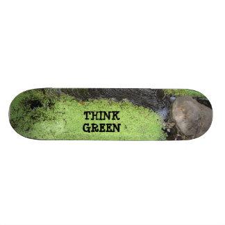 環境を考えるの池のスケートボード スケートボード