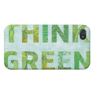 環境を考えるの認識度の幸せな引用文 iPhone 4/4Sケース