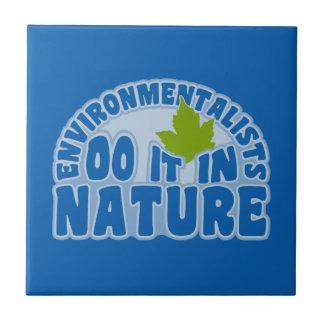 環境主義者のタイル タイル