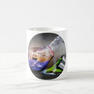 環境保護の認識度 コーヒーマグカップ