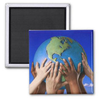 環境問題は世界を救います マグネット