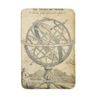 環状球のヴィンテージのsteampunkの絵 バスマット