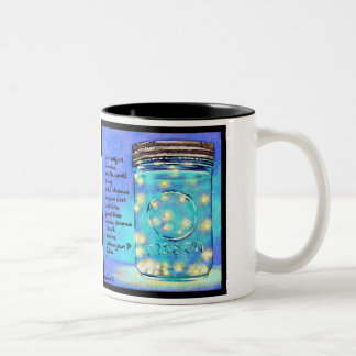 瓶のマグの©MillwardStudios 2011年のホタル ツートーンマグカップ