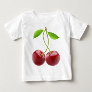 甘いさくらんぼ ベビーTシャツ