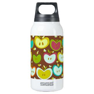 甘いりんごパターン 断熱ウォーターボトル