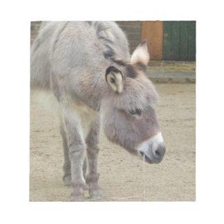 甘いろば、動物の灰色、馬家族 ノートパッド