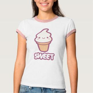 甘いアイスクリームコーン Tシャツ