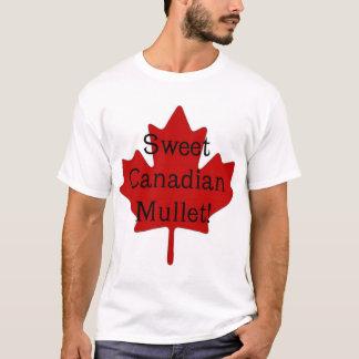 甘いカナダのマレット Tシャツ