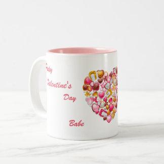 甘いキャンデー愛 ツートーンマグカップ