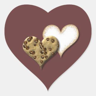 甘いクッキー愛 ハートシール