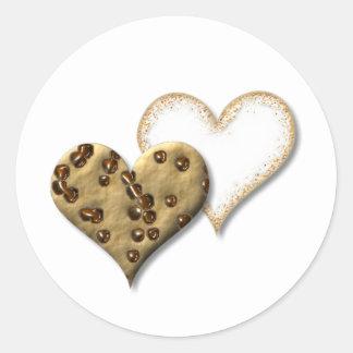 甘いクッキー愛 ラウンドシール