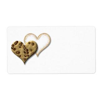 甘いクッキー愛 ラベル