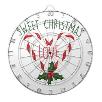 甘いクリスマス ダーツボード