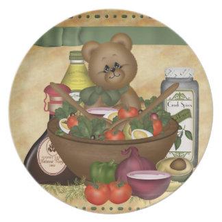 甘いサラダディナー用大皿 プレート