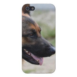 甘いジャーマン・シェパード犬 iPhone 5 COVER