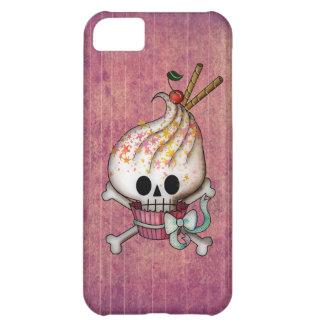 甘いスカルのカップケーキ iPhone5Cケース