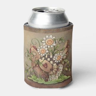 甘いデイジーの雌鶏のクーラーボックス 缶クーラー