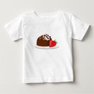 甘いデザート ベビーTシャツ