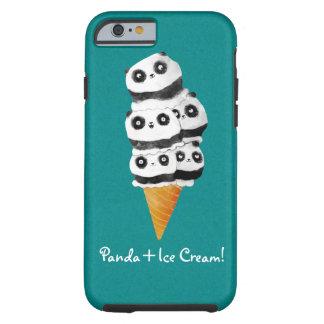 甘いパンダくまのアイスクリームコーン ケース