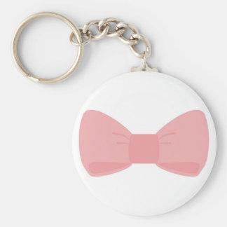 甘いピンクの弓keychain キーホルダー