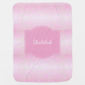甘いピンクは新生児の女の子のためのベビーブランケットを主演します ベビー ブランケット