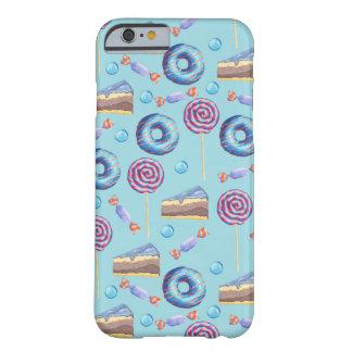 甘いブルーベリーはパターンを扱います BARELY THERE iPhone 6 ケース