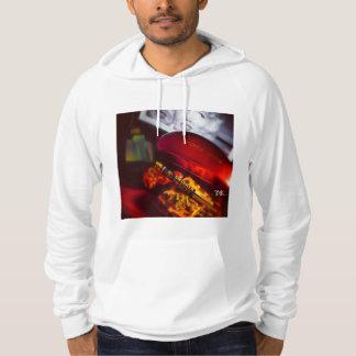 甘いモンローのプルオーバーのフード付きスウェットシャツ パーカ