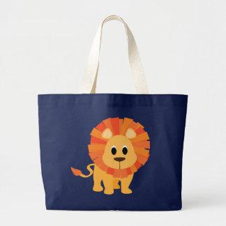 甘いライオン ラージトートバッグ