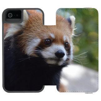 甘いレッサーパンダくま INCIPIO WATSON™ iPhone 5 ウォレット ケース
