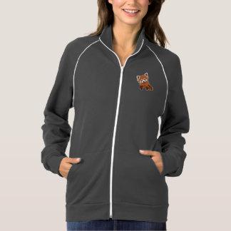 甘いレッサーパンダのフリーストラックジャケット ジャケット