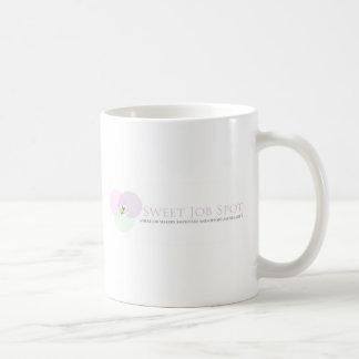 甘い仕事の点 コーヒーマグカップ