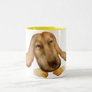 甘い子犬 ツートーンマグカップ