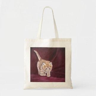 甘い子猫、暖かい子猫 トートバッグ