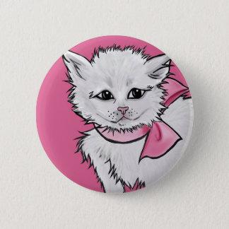 甘い子猫 5.7CM 丸型バッジ