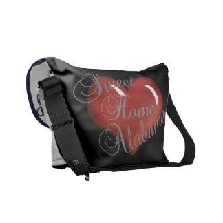 甘い家のアラバマの記念品のメッセンジャーバッグ メッセンジャーバッグ