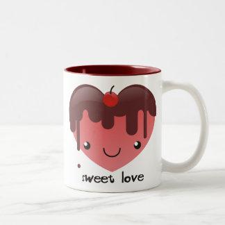 甘い愛マグ ツートーンマグカップ