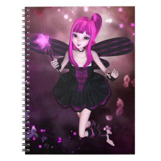 甘い星明かりの渦巻のノート ノートブック