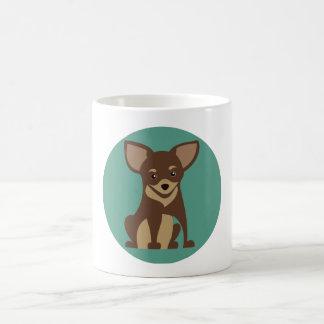 甘い犬 コーヒーマグカップ