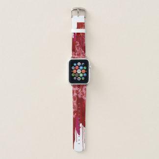 """""""甘い狂気""""の鮮やかな赤のりんごの時計バンド APPLE WATCHバンド"""