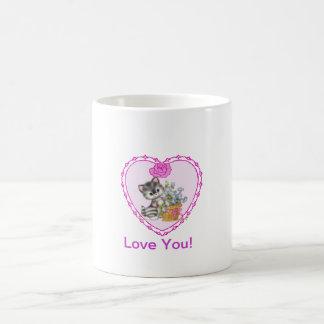 甘い猫 コーヒーマグカップ