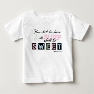 甘い睡眠 ベビーTシャツ