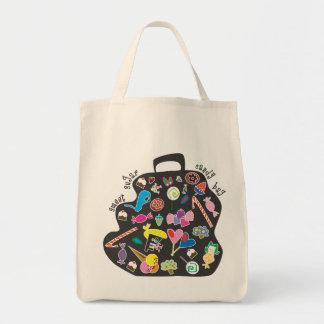 甘い砂糖菓子のバッグ トートバッグ
