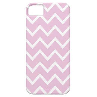 甘い薄紫のピンクのシェブロンのiPhone 5の場合 iPhone SE/5/5s ケース