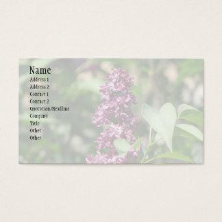 甘い薄紫 名刺
