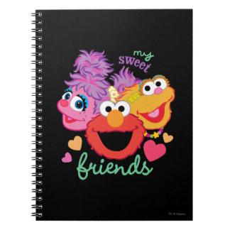 甘い親友のキャラクター ノートブック