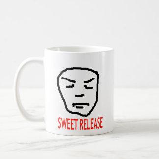 甘い解放 コーヒーマグカップ
