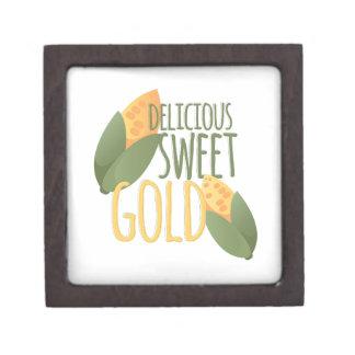 甘い金ゴールド ギフトボックス