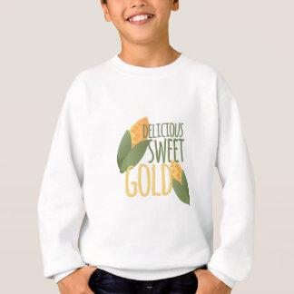 甘い金ゴールド スウェットシャツ