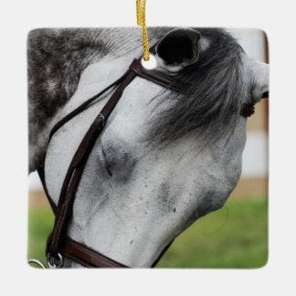 甘いAppaloosaの馬 セラミックオーナメント