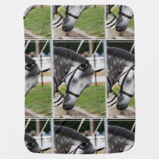 甘いAppaloosaの馬 ベビー ブランケット